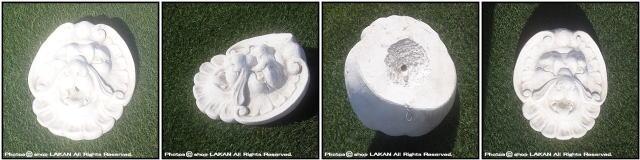 壁面 石像 ウォールデコ アニマル