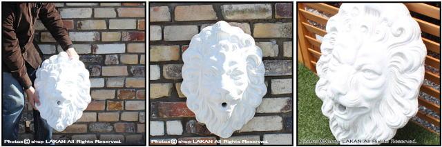 石像 動物 洋風 オブジェ ライオン