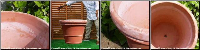 ベノッチ 高級 プランター リムポット 輸入 テラコッタ 植木鉢