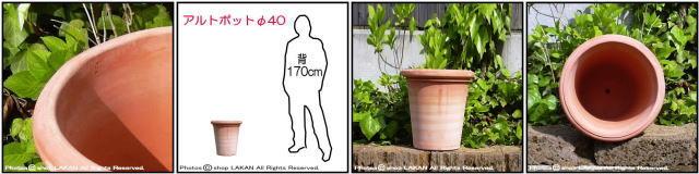 ベノッチ 高品質 テラコッタ鉢 アルトポット 輸入 植木鉢