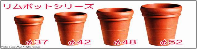 輸入植木鉢 トスカーナ デローマ社 リムポット42 素焼き陶器鉢 大型テラコッタ鉢