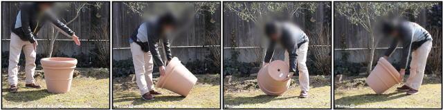 リムポット52 輸入植木鉢 トスカーナ