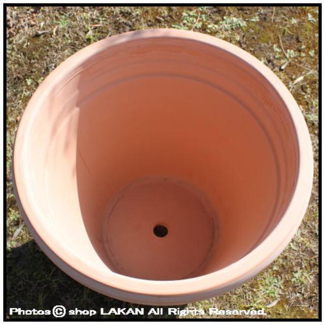 素焼き陶器鉢 リムポット52 輸入植木鉢