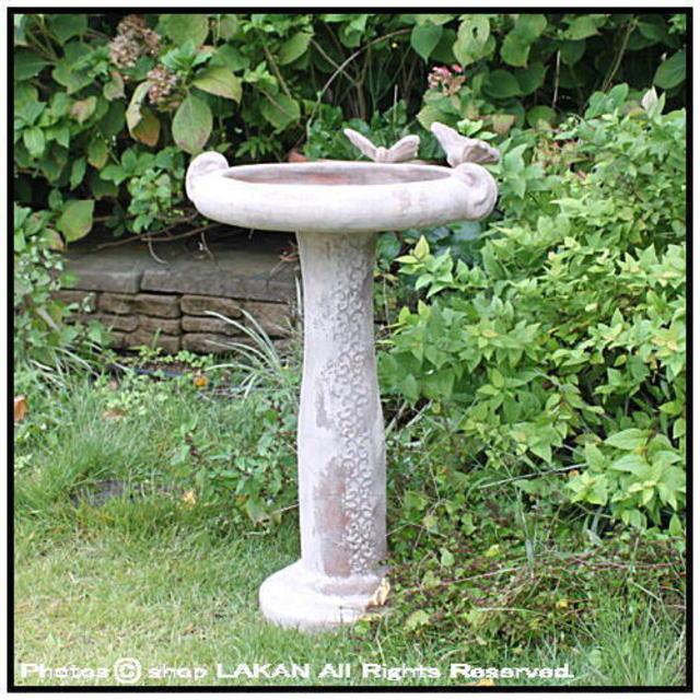 バードバス 洋風 オーナメント ガーデンオブジェ  庭園置物   石像 テラコッタアイテム