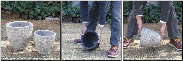 エッグ23 フリット 自然な風合い 古代仕上げ アンティーク仕上 輸入植木鉢 テラコッタ