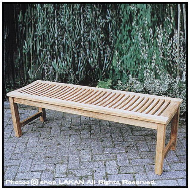 縁台ベンチ フラットベンチ チーク製 屋外家具