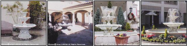 FF1011 洋風 庭園 石造 噴水