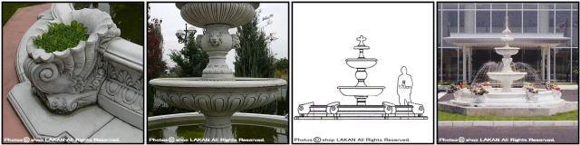 イタリア製 洋風 庭園 石造