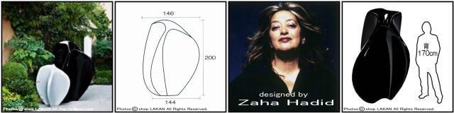 デザイナーズ 大型 フロー・ラージ セラルンガ社 イタリア製 Zaha Hadid ポリエチレン樹脂鉢 高級志向 軽量