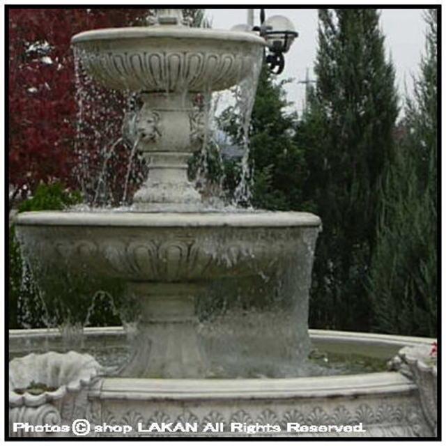 FO2656 洋風 庭園 石造 噴水