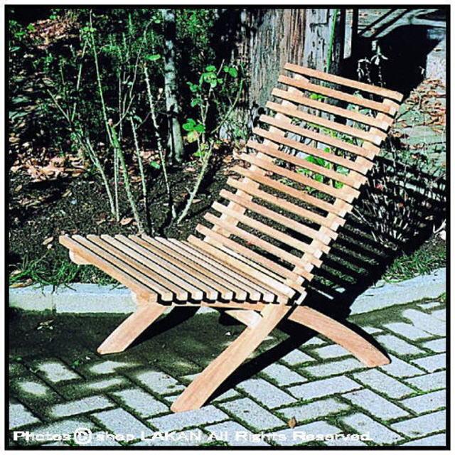 ハンディチェア インドネシア ガーデン家具 チーク製 屋外家具 ジャービス 折畳式