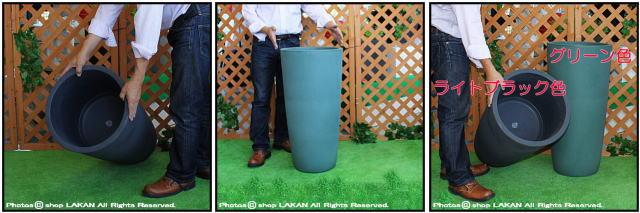円柱型背高鉢 デザインもサイズも豊富 ポリエステル樹脂製 キボーハイ鉢 高級輸入樹脂植木鉢 キャスター付き マルキオーロ社