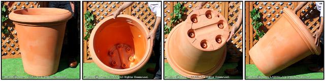 レオン鉢 高級輸入樹脂植木鉢 マルキオーロ社 デザインもサイズも豊富