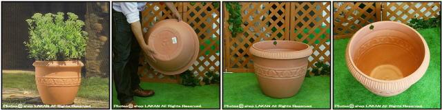 大型樹脂鉢 クラシックデザイン オブジェ ガーデンオブジェ 樹脂プランター 輸入樹脂植木鉢 ユーロ3社 エトラス