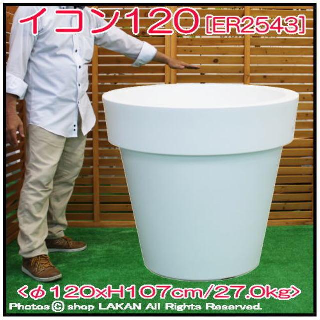 イコン120 大型 樹脂鉢