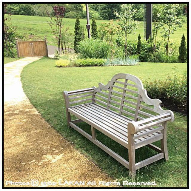 貴族ベンチ インドネシア ガーデン家具 チーク製 屋外家具 ジャービス アーム付き