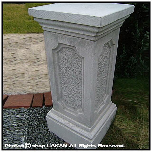 洋風庭園 重厚 クラシック石造花台 PI0304