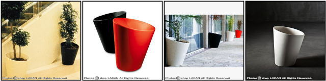 ポリエチレン樹脂製 シンプルデザイン デニス・サンタティアラ