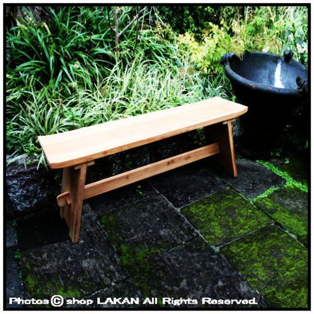 折り畳み インドネシア チーク製 ロッキングベンチ