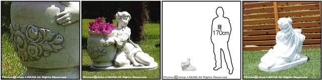 子供像 マニュエラの像 石像