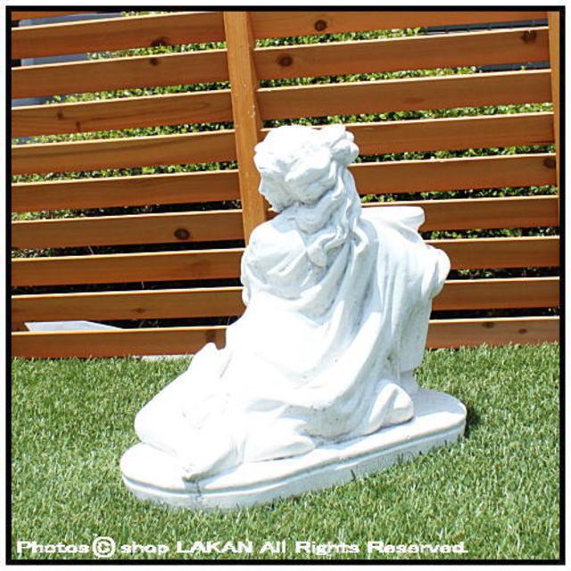 ガーデン置物 少女像 マニュエラ像