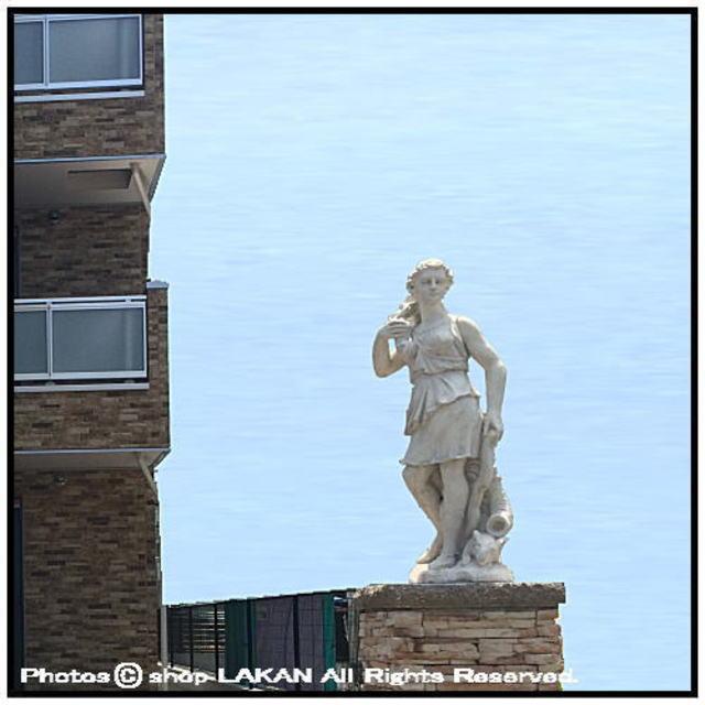 ダイアナ 像 彫像 高級感 重厚