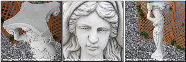 ガーデン ヴィーナス カリアティード 彫像