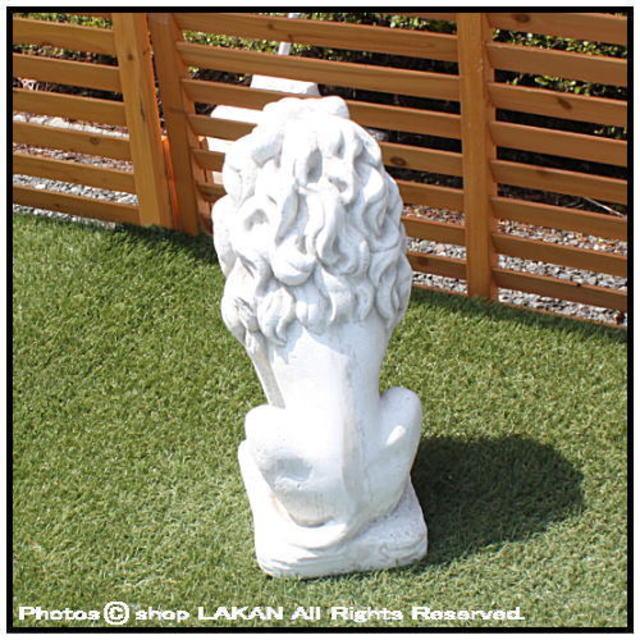 ライオン 動物 洋風 彫像