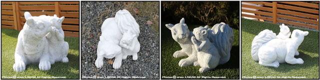 オブジェ 石像 洋風ガーデン 彫像