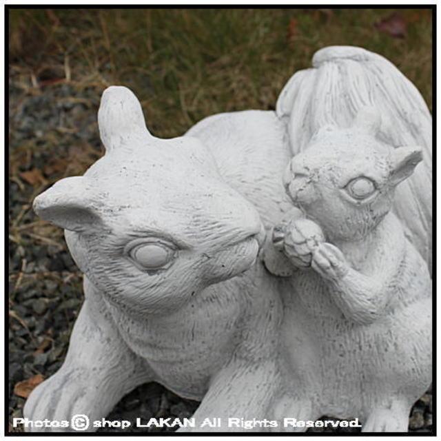 石像 ガーデンオブジェ アニマル