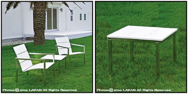 軽量 屋外 ガーデン家具 人気 ステンレス ウィム・セゲルス