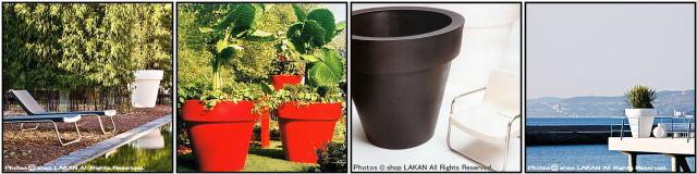大型植木鉢 軽量 高級志向 ポリエチレン樹脂鉢