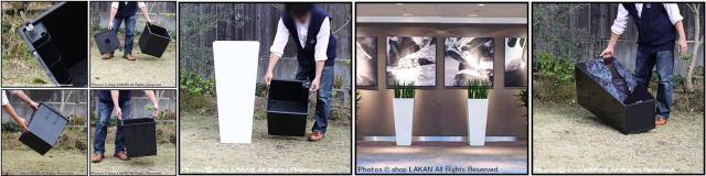 ポリプロピレン樹脂製 人気 植木鉢 ヴォーグ